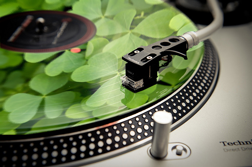 st paddy vinyl