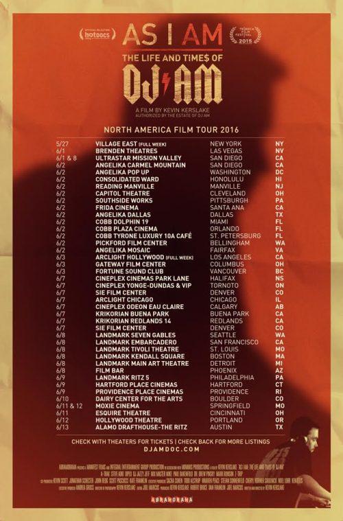 AM Doc Final Tour Poster