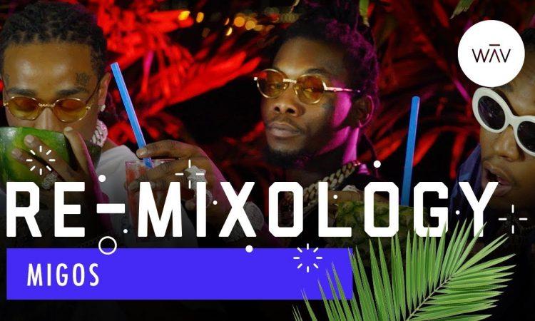 Migos Flex Their Cocktail-Making Skills