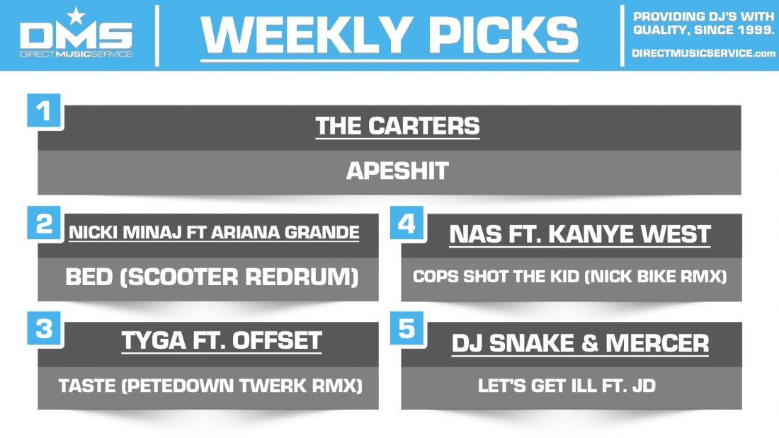 DMS Top 5 Picks Of The Week – 6/22/2018
