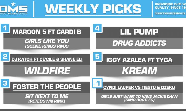DMS Top 5 Picks Of The Week – 7/6/2018