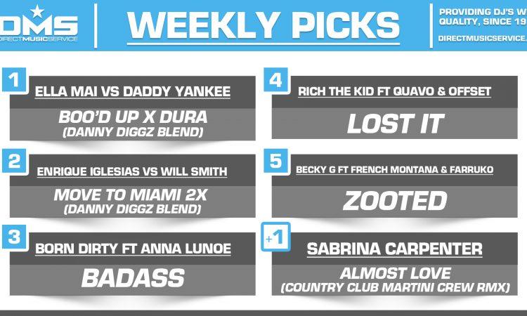 DMS Top 5 Picks Of The Week – 7/20/2018