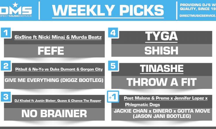 DMS Top 5 Picks Of The Week – 7/27/2018