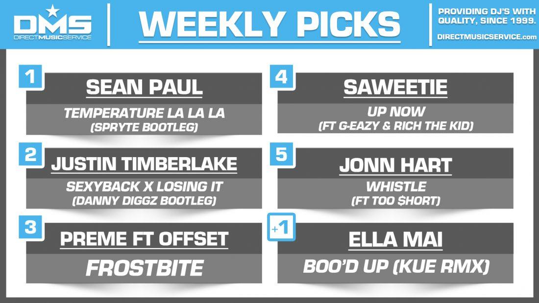 DMS Top 5 Picks Of The Week – 8/24/2018