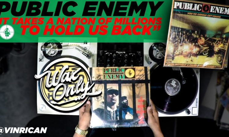 """Discover Samples Used On Public Enemy's """"It Takes A Nation of Millions To Hold Us Back"""""""
