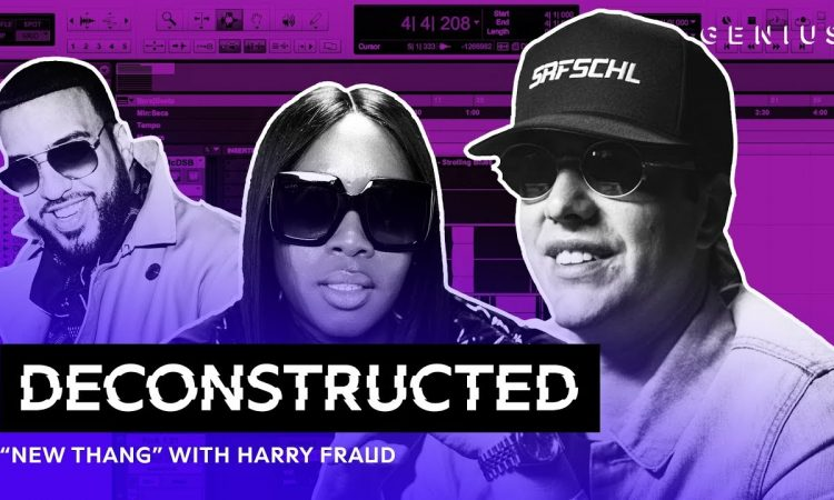 """The Making Of French Montana & Remy Ma's """"New Thang"""" With Harry Fraud"""