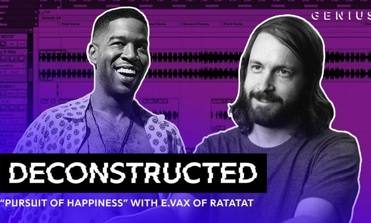 "The Making Of Kid Cudi's ""Pursuit Of Happiness"" With E.VAX Of Ratatat"