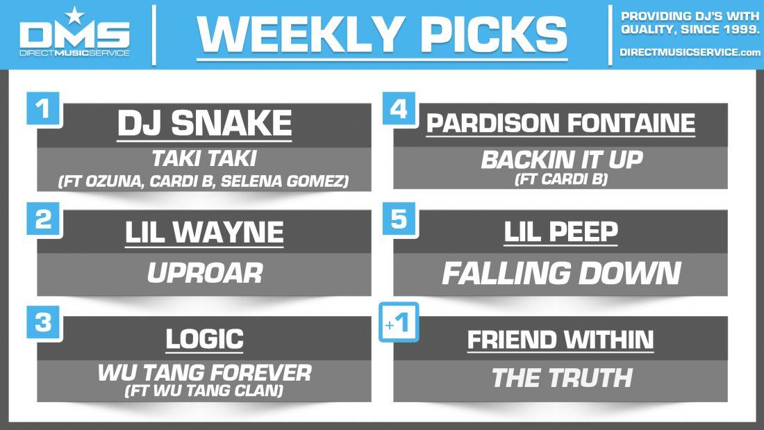 DMS Top 5 Picks Of The Week – 9/28/2018