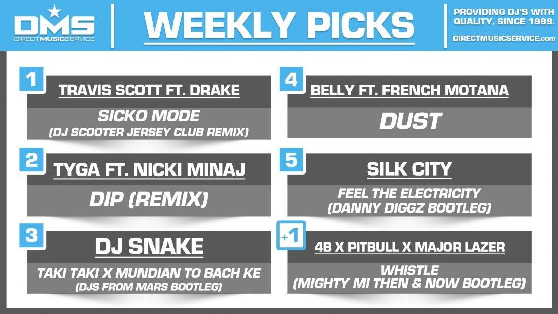 DMS Top 5 Picks Of The Week – 11/2/2018