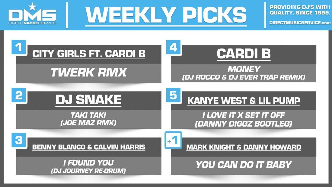 DMS Top 5 Picks Of The Week – 11/16/2018