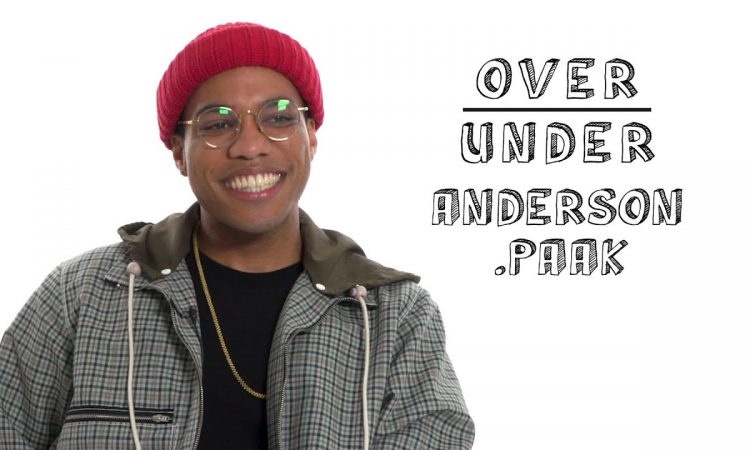 Anderson .Paak Rates Flamin' Hot Cheetos, Goths, and Korn