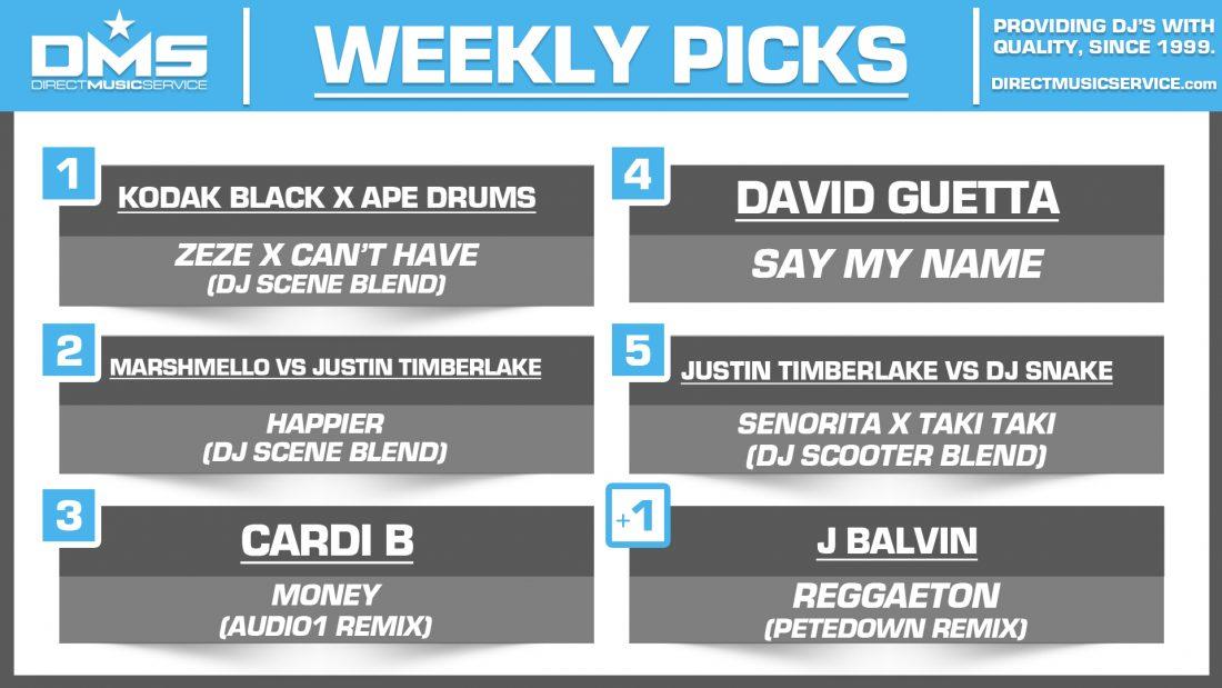 DMS Top 5 Picks Of The Week – 11/23/2018