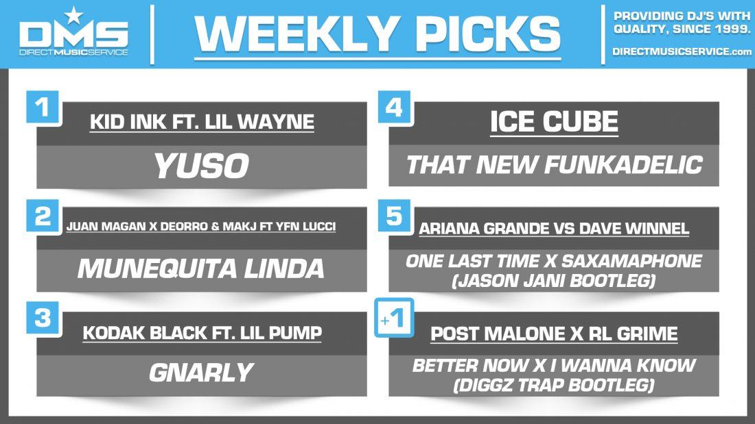 DMS Top 5 Picks Of The Week – 12/21/2018