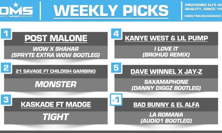 DMS Top 5 Picks Of The Week – 12/28/2018