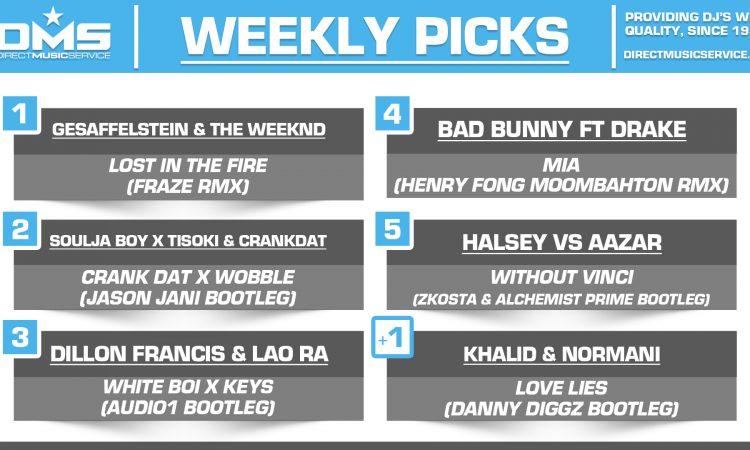 DMS Top 5 Picks Of The Week – 1/11/2019