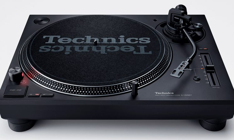 Technics Today Unveiled the New SL-1200MK7 Direct Drive Turntable