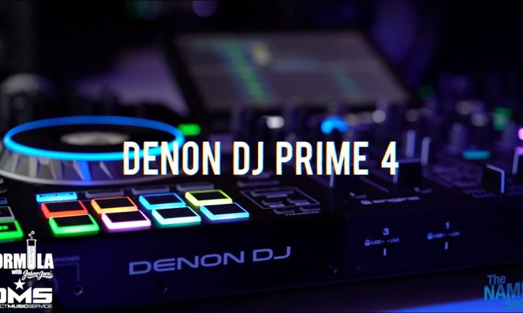 The Formula: First Look at the Denon Prime 4 With Jason Jani at NAMM 2019