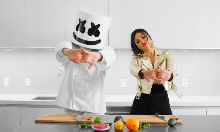 Marshmello & Nicole Scherzinger Make Hawaiian Poke Bowls