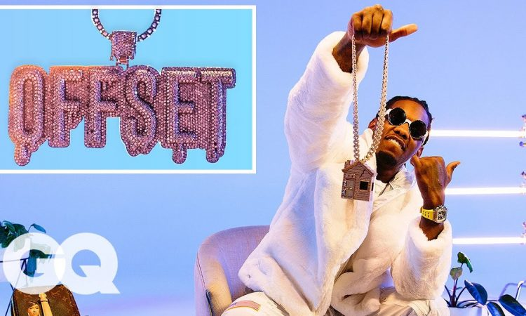 Offset Shows Off His Insane Jewelry Collection   GQ