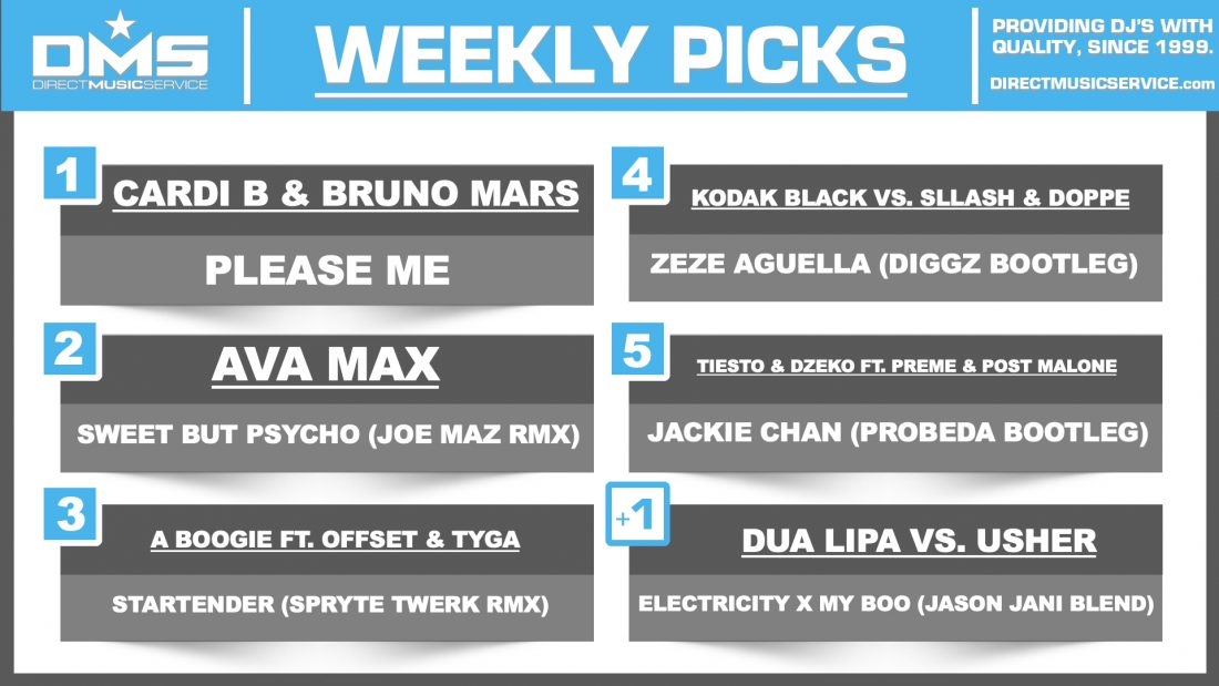 DMS Top 5 Picks Of The Week – 2/18/19