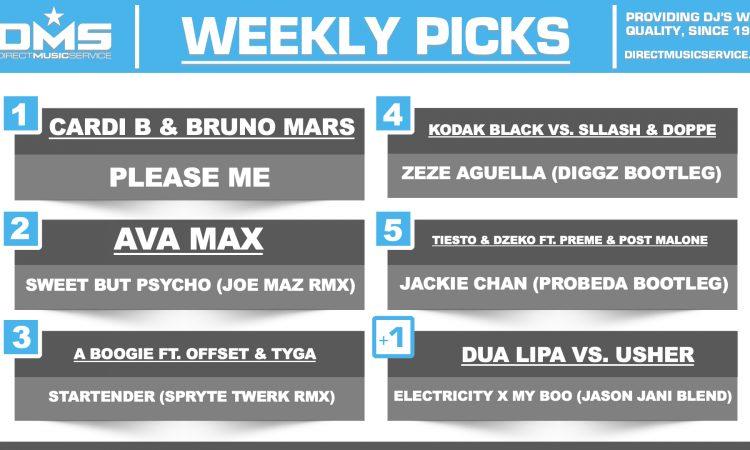 DMS Top 5 Picks Of The Week - 2/18/19