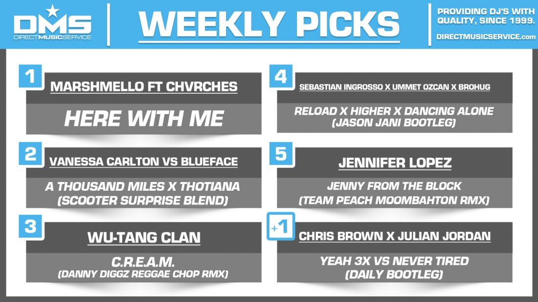 DMS TOP 5 PICKS OF THE WEEK – 3/11/19