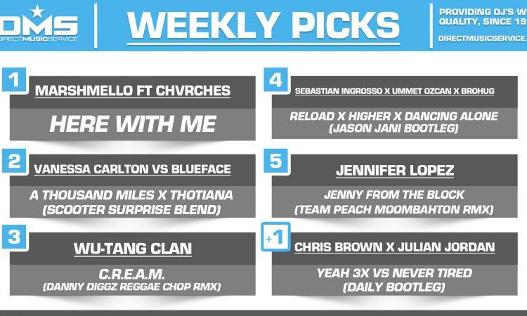 DMS TOP 5 PICKS OF THE WEEK - 3/11/19