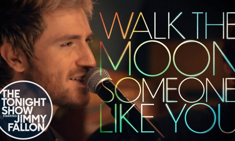 """WALK THE MOON Cover Adele - """"Someone Like You""""   Jimmy Fallon   Cover Room"""