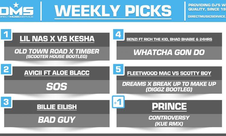 DMS TOP 5 PICKS OF THE WEEK – 4/15/19
