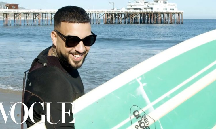 24 Hours With French Montana | Vogue
