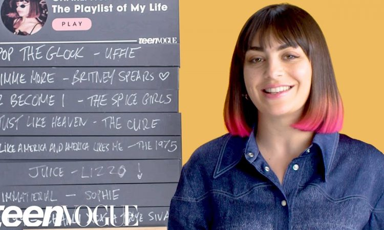 Charli XCX Creates The Playlist of Her Life   Teen Vogue