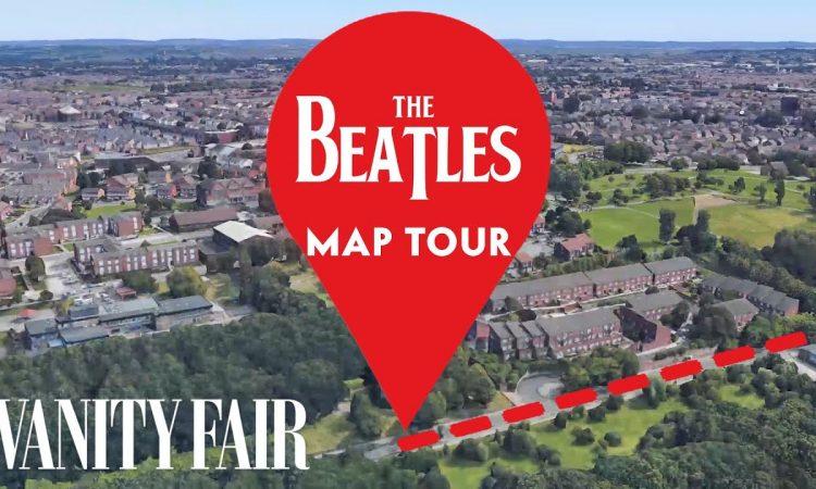Every Place in Beatles Lyrics, Mapped | Vanity Fair