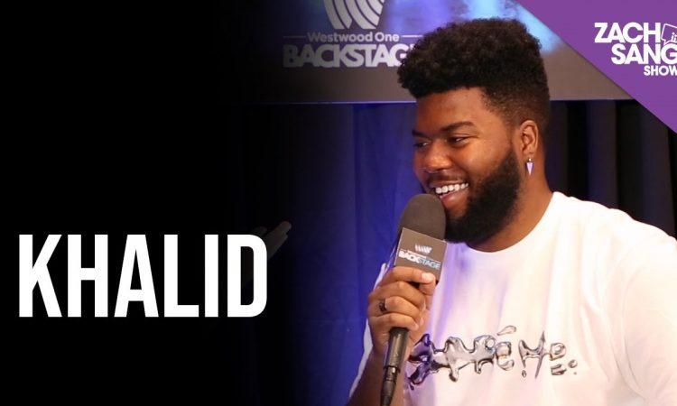 Khalid | Backstage at The Billboard Music Awards | ZACH SANG