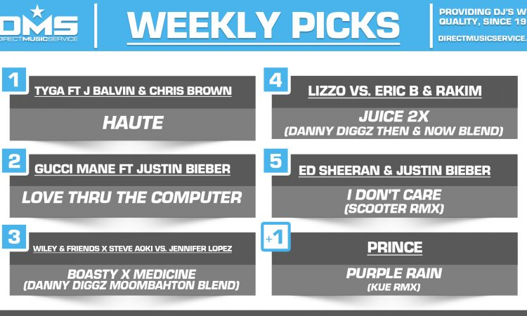 DMS TOP 5 PICKS OF THE WEEK – 6/10/19