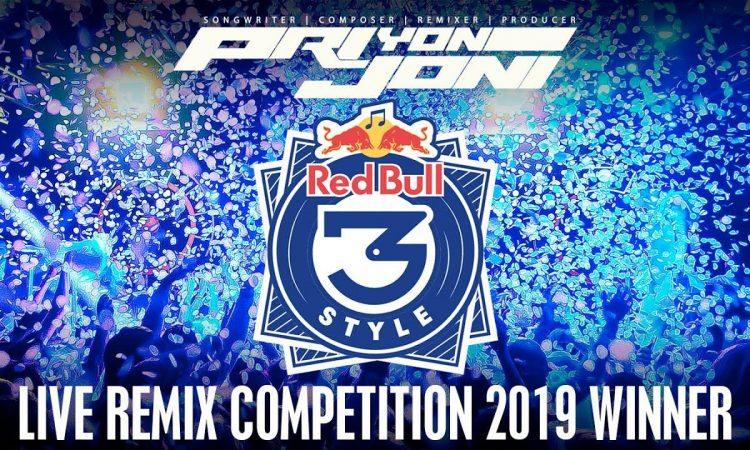 Pri yon Joni Winning Redbull 3Style Live Remix Competition!