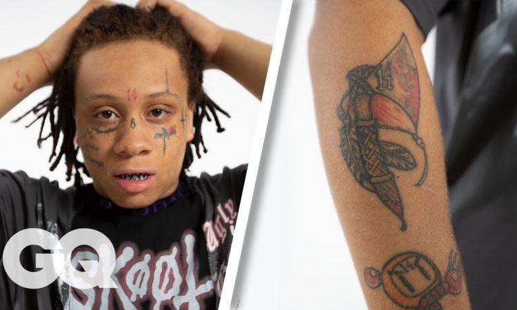 Trippie Redd Breaks Down His Tattoos | GQ