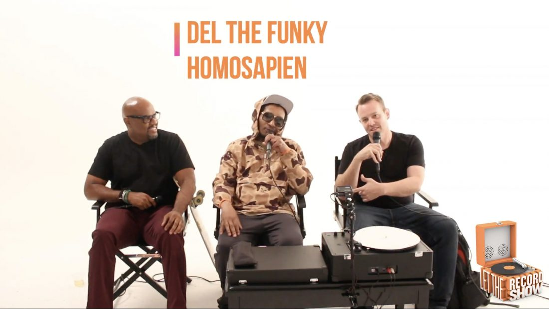 Let the Record Show Ep. 26: Del the Funky Homosapien Interview