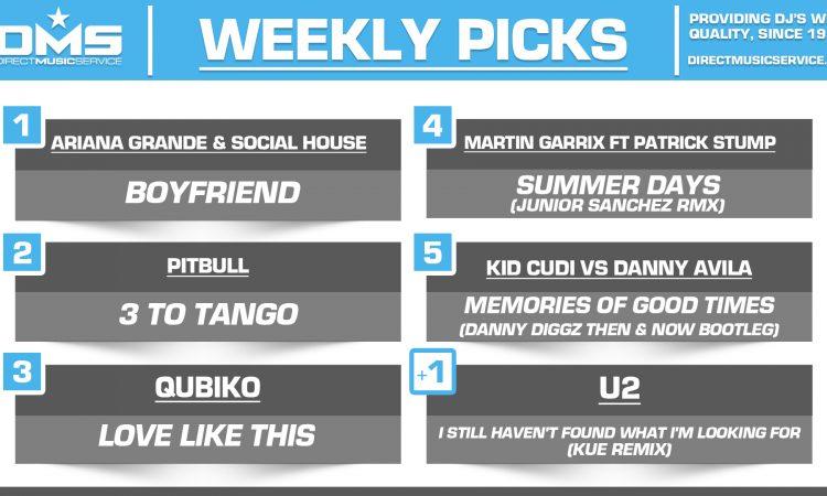 DMS TOP 5 PICKS OF THE WEEK – 8/5/19