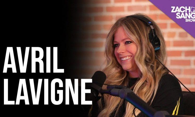 Avril Lavigne Talks 'Head Above Water, Sk8er Boi, Upcoming Tour | ZACH SANG