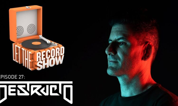 Let the Record Show Ep. 27: Gary Richards aka DJ Destructo Interview