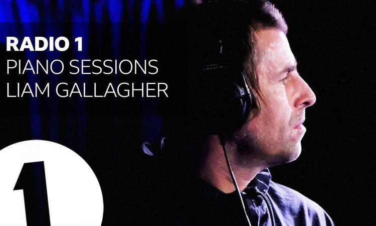 Liam Gallagher - Champagne Supernova - Radio 1 Piano Sessions