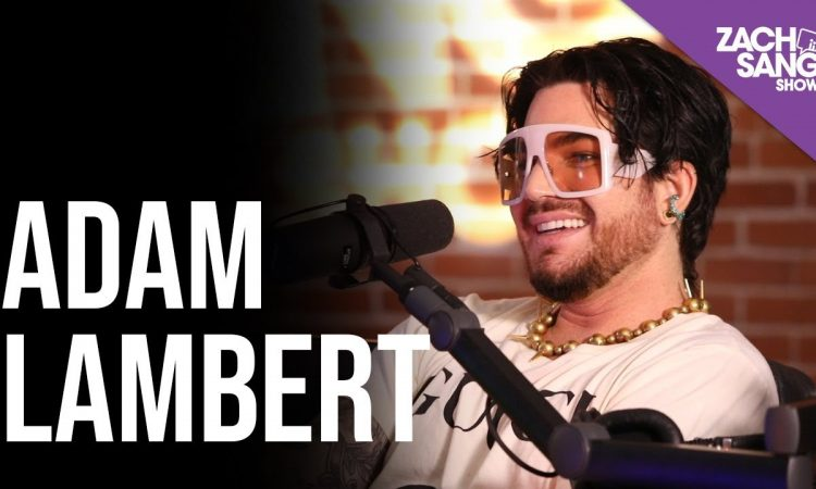 Adam Lambert Interview   Zach Sang