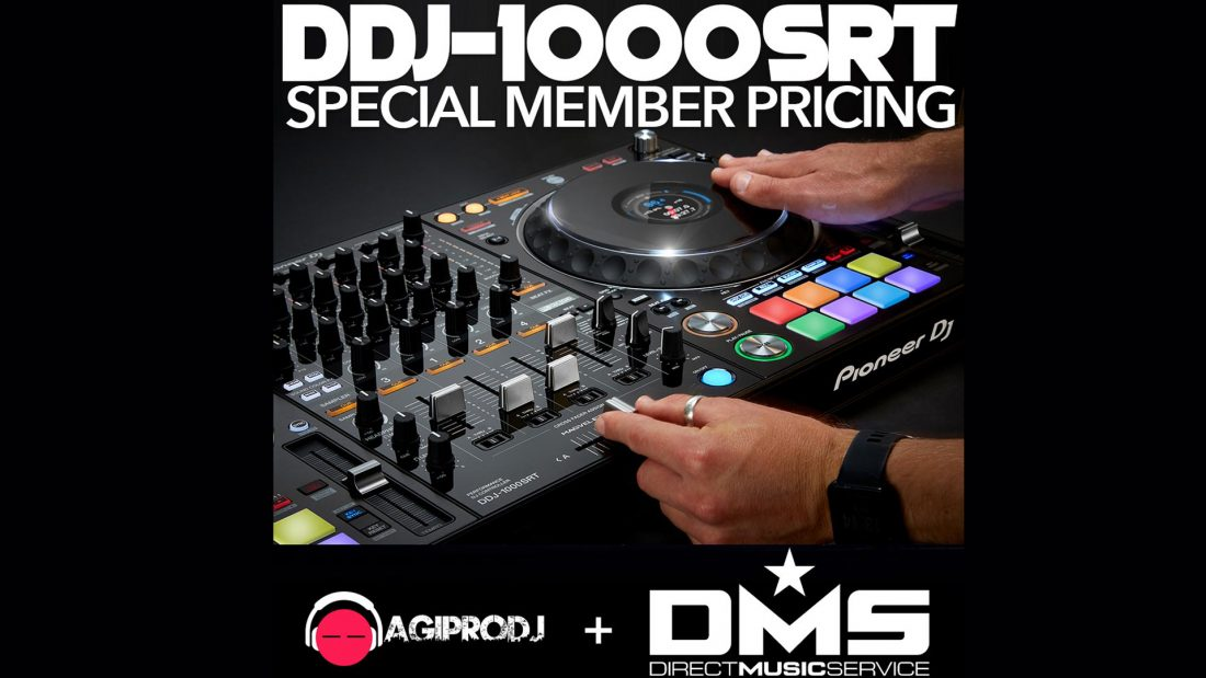 DMS Members get SPECIAL Pricing on the NEW Pioneer DDJ-1000SRT