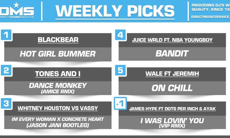 DMS TOP 5 PICKS OF THE WEEK – 10/14/19