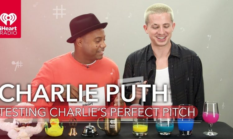 Charlie Puth Puts His Perfect Pitch Skills To The Test! | iHeartRadio