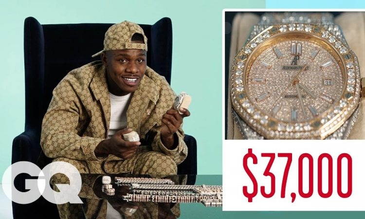 DaBaby Shows Off His Insane Jewelry Collection | GQ