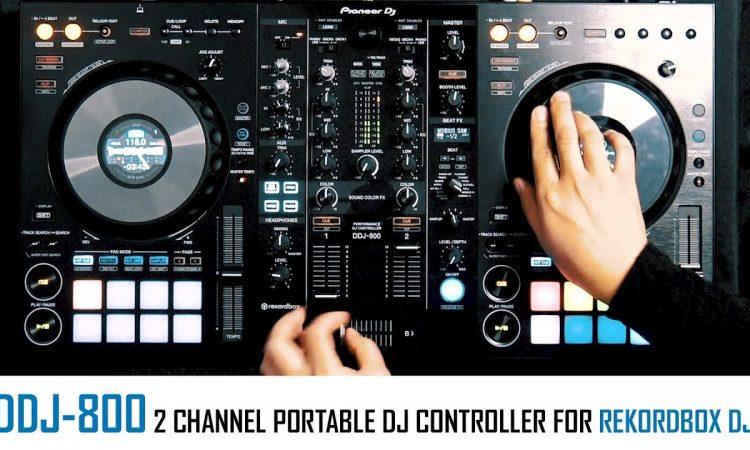 DDJ-800 | a fresh design for 2 channel DJ controllers from Pioneer DJ | Pri Yon Joni