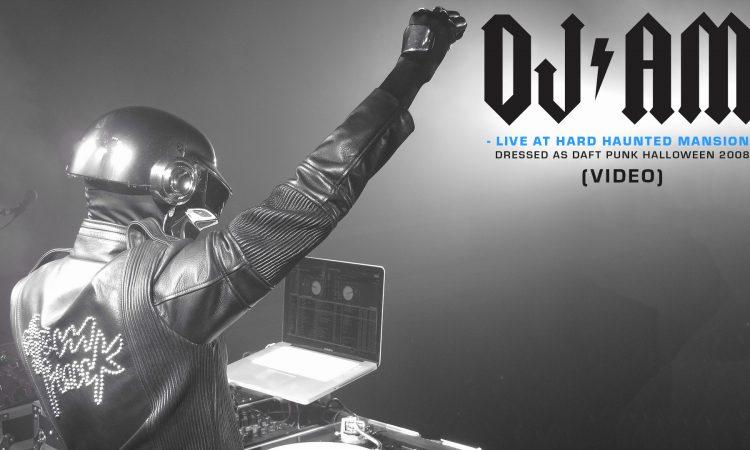 DJ AM at HARD Haunted Mansion as Daft Punk, Halloween 2008 (FULL VID) | DJAMLIVES.COM