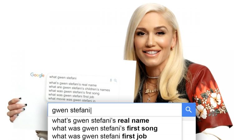 Gwen Stefani Answers the Web's Most Searched Questions   WIRED