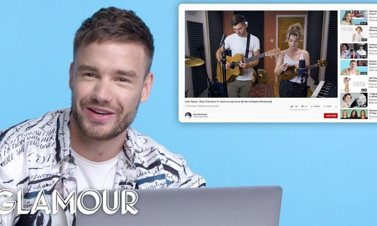 Liam Payne Watches Fan Covers on YouTube   Glamour